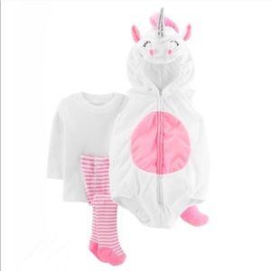 Carter's Costume 24M Unicorn 3-pc.